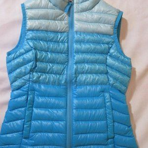 Free Country Vest Girls Small 6 6X Puffer Blue